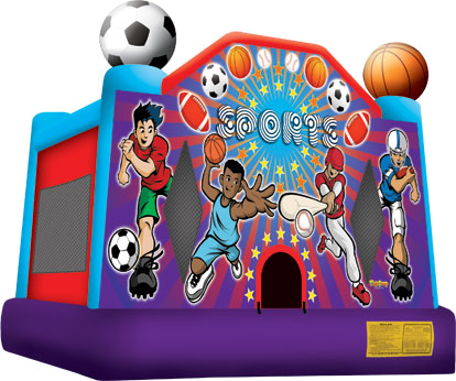 Inflatable Bounce Houses Rental